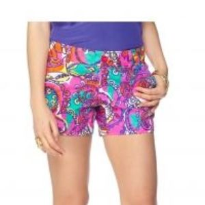 CALLAHAN SHORT SEA AND BE SEEN FUSCHIA MULTI